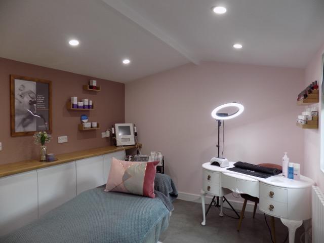 bespoke spa treatment room